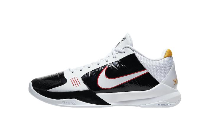 Alternate Bruce Lee Nike Kobe 5 Protro White CD4991-101 01