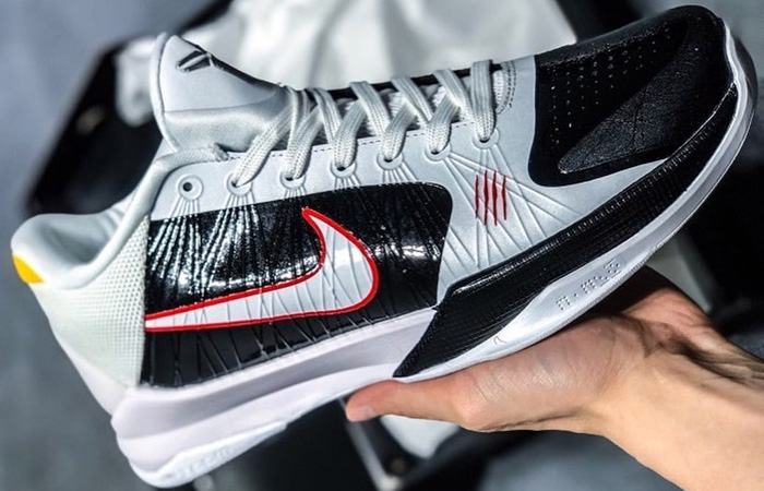 Alternate Bruce Lee Nike Kobe 5 Protro White CD4991-101 02