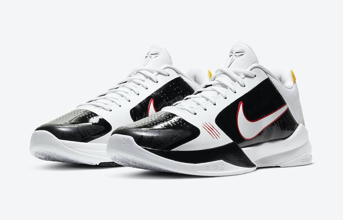 Alternate Bruce Lee Nike Kobe 5 Protro White CD4991-101 05
