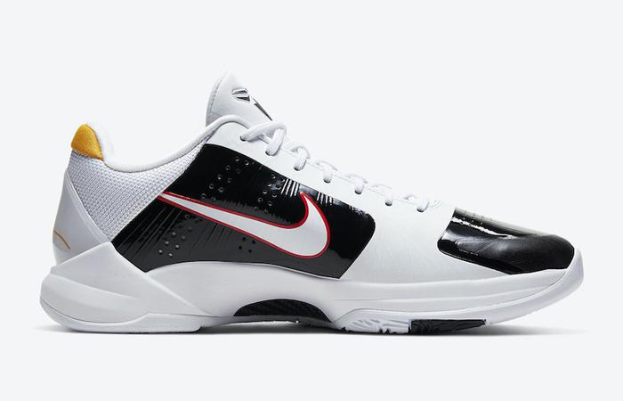 Alternate Bruce Lee Nike Kobe 5 Protro White CD4991-101 06