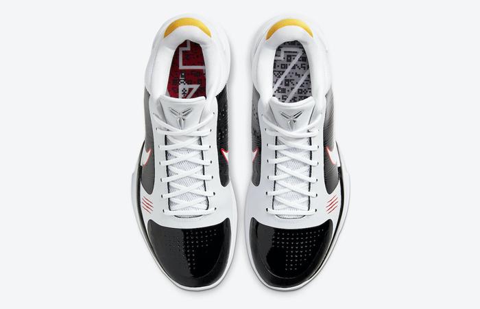 Alternate Bruce Lee Nike Kobe 5 Protro White CD4991-101 07