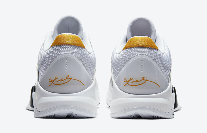Alternate Bruce Lee Nike Kobe 5 Protro White CD4991-101 08