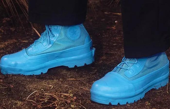 Ambush Converse Chuck Taylor All Star Duck Boot Sky Blue 170589C on foot 01