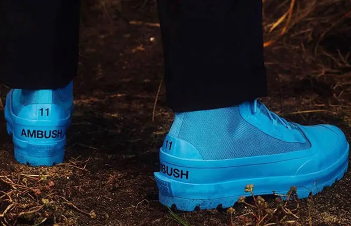 Ambush Converse Chuck Taylor All Star Duck Boot Sky Blue 170589C on foot 03