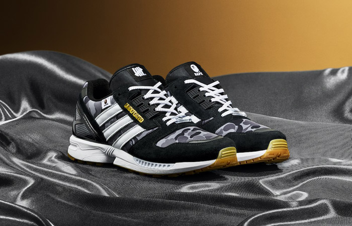 BAPE Undefeated adidas ZX 8000 Black FY8852 02