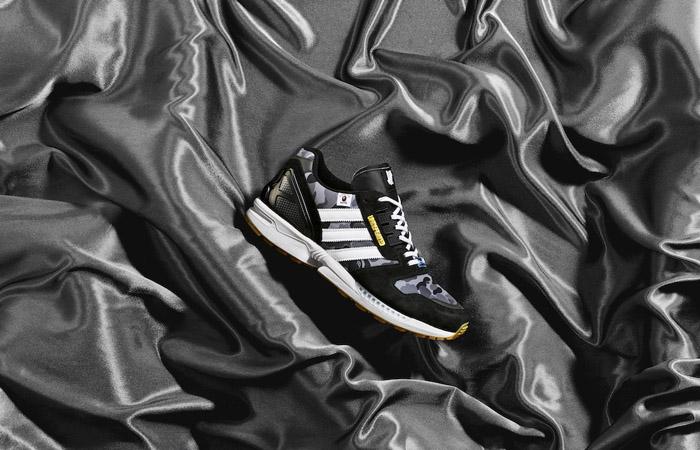 BAPE Undefeated adidas ZX 8000 Black FY8852 03