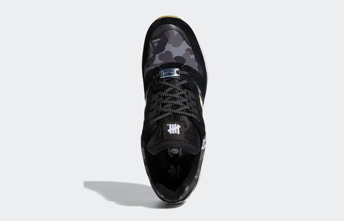 BAPE Undefeated adidas ZX 8000 Black FY8852 06