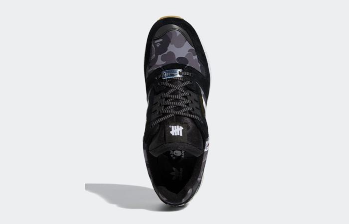 BAPE Undefeated adidas ZX 8000 Black FY8852 06