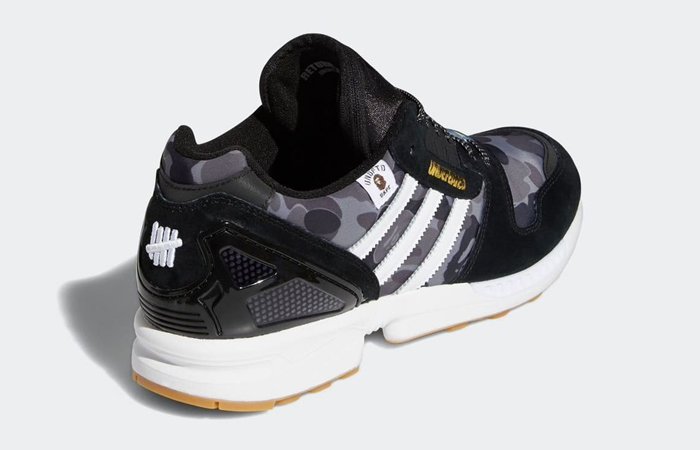 BAPE Undefeated adidas ZX 8000 Black FY8852 07