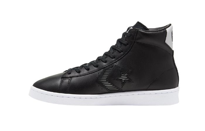 Converse Pro Leather Rivals Mid Black 168617C 01