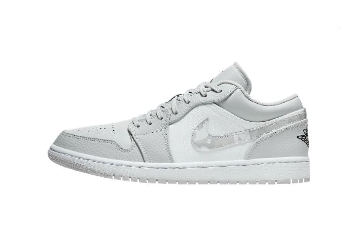 Jordan 1 Low Grey White Camo DC9036-100 01