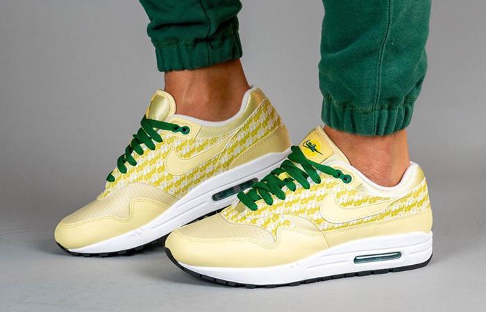 Nike Air Max 1 Lemonade CJ0609-700 on foot 01