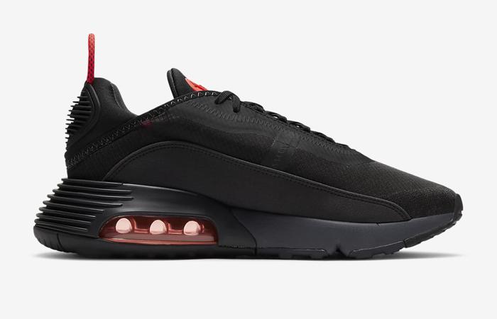 Nike Air Max 2090 Matte Black Red CT1803-002 03