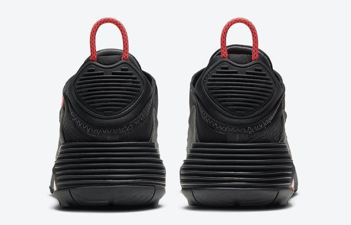Nike Air Max 2090 Matte Black Red CT1803-002 05