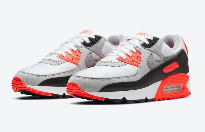 Nike Air Max 90 Infrared 2020 CT1685-100 05