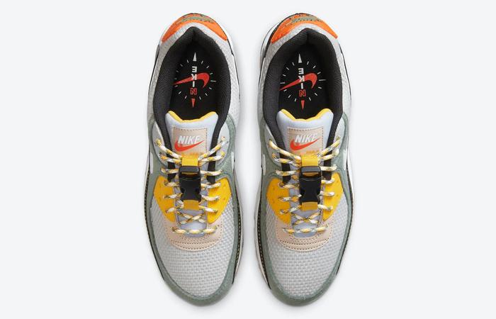 Nike Air Max 90 White Ash Yellow DC2525-300 04