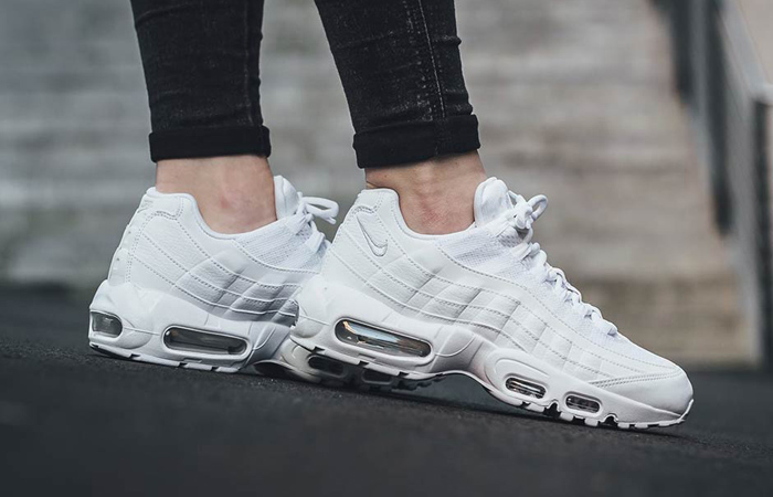 Nike Air Max 95 Essential White CT1268-100 on foot 02
