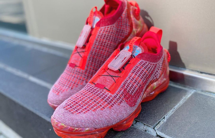 Nike Air Vapormax 2020 Flyknit Team Red CT1823-600 07