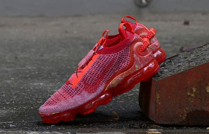 Nike Air Vapormax 2020 Flyknit Team Red CT1823-600 08