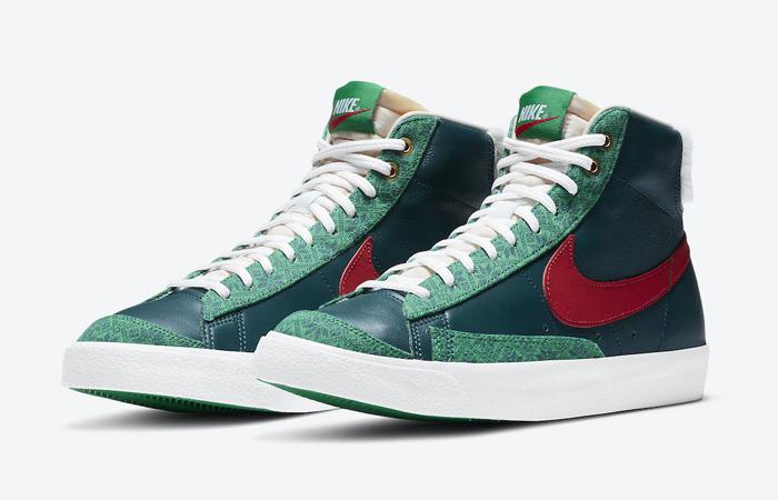 Nike Blazer Mid Christmas 2020 DC1619-300 02