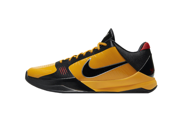 Nike Kobe 5 Protro Bruce Lee Black Orange CD4991-700 01