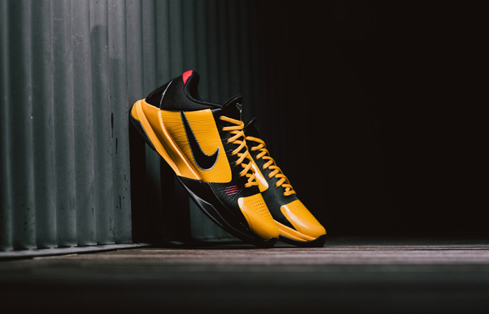 Nike Kobe 5 Protro Bruce Lee Black Orange CD4991-700 02