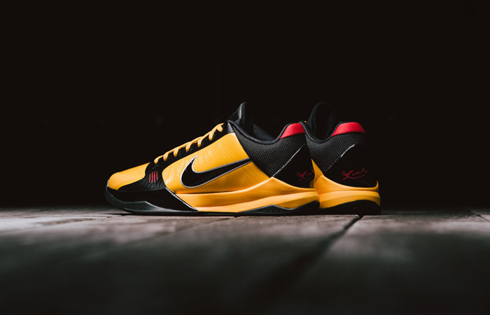 Nike Kobe 5 Protro Bruce Lee Black Orange CD4991-700 03