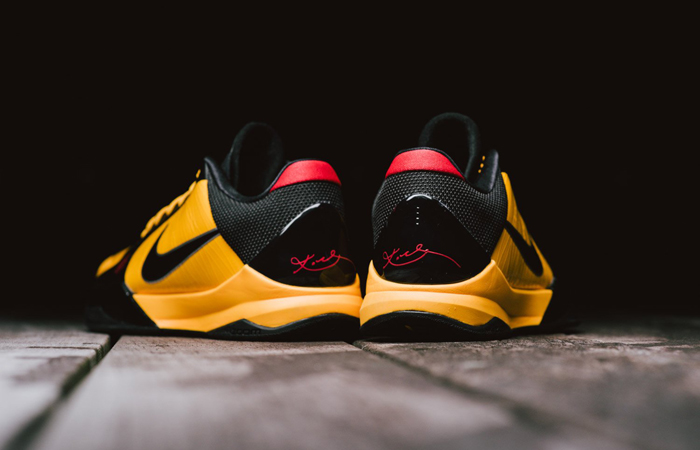 Nike Kobe 5 Protro Bruce Lee Black Orange CD4991-700 04