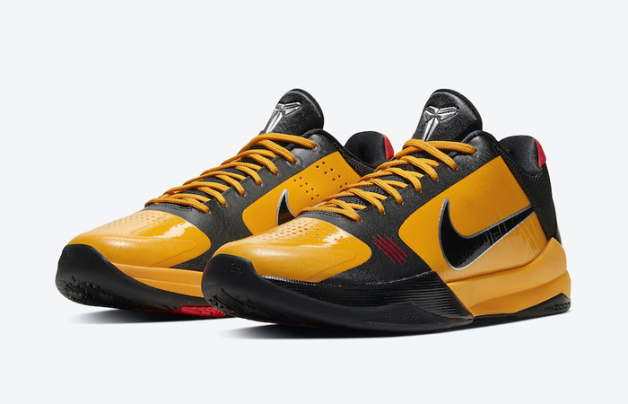 Nike Kobe 5 Protro Bruce Lee Black Orange CD4991-700 05