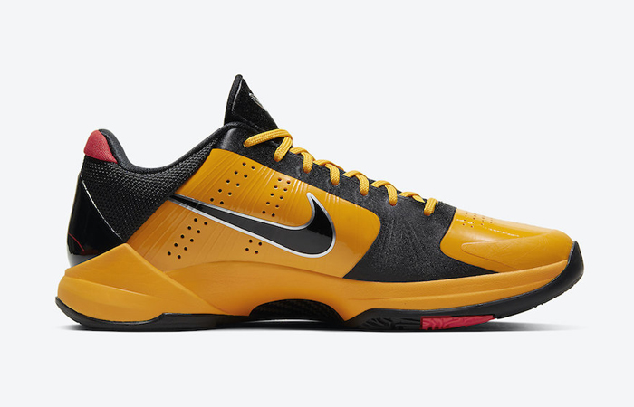 Nike Kobe 5 Protro Bruce Lee Black Orange CD4991-700 06