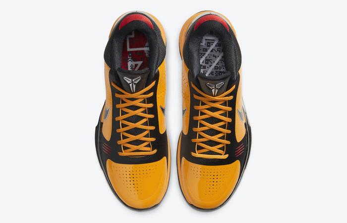 Nike Kobe 5 Protro Bruce Lee Black Orange CD4991-700 07