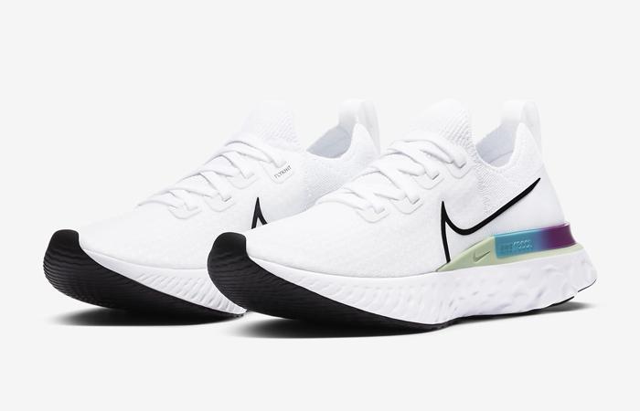 Nike React Infinity Run Flyknit Oracle Aqua CD4372-102 02