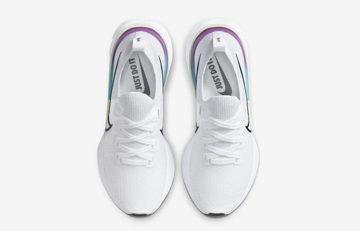 Nike React Infinity Run Flyknit Oracle Aqua CD4372-102 04