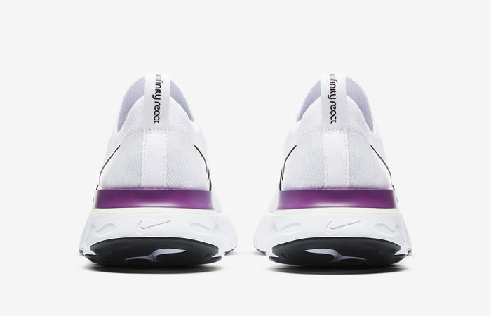 Nike React Infinity Run Flyknit Oracle Aqua CD4372-102 05