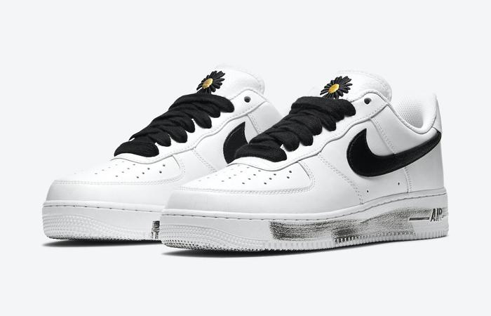 PEACEMINUSONE Nike Air Force 1 Paranoise White DD3223-100 02