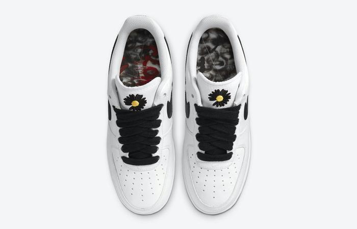 PEACEMINUSONE Nike Air Force 1 Paranoise White DD3223-100 04