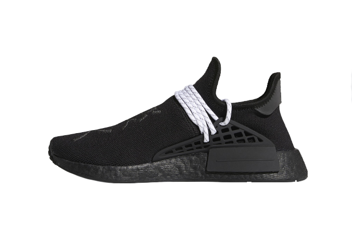 Pharrell adidas NMD Hu Black GY0093 01