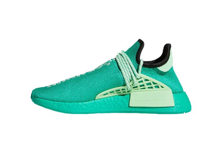 Pharrell adidas NMD Hu Turquoise GY0089 01