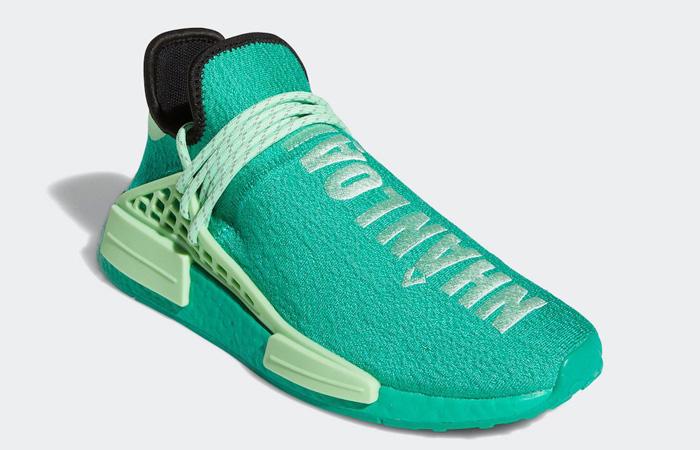 Pharrell adidas NMD Hu Turquoise GY0089 02