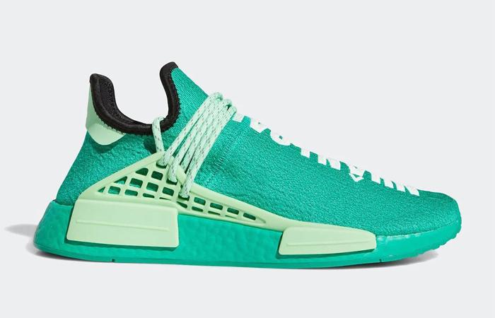 Pharrell adidas NMD Hu Turquoise GY0089 03