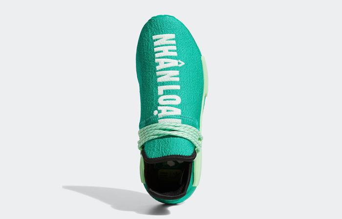 Pharrell adidas NMD Hu Turquoise GY0089 04