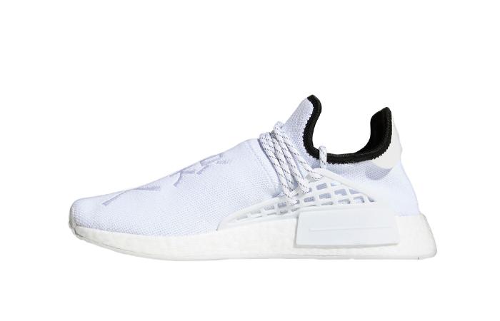 Pharrell adidas NMD Hu White GY0092 01