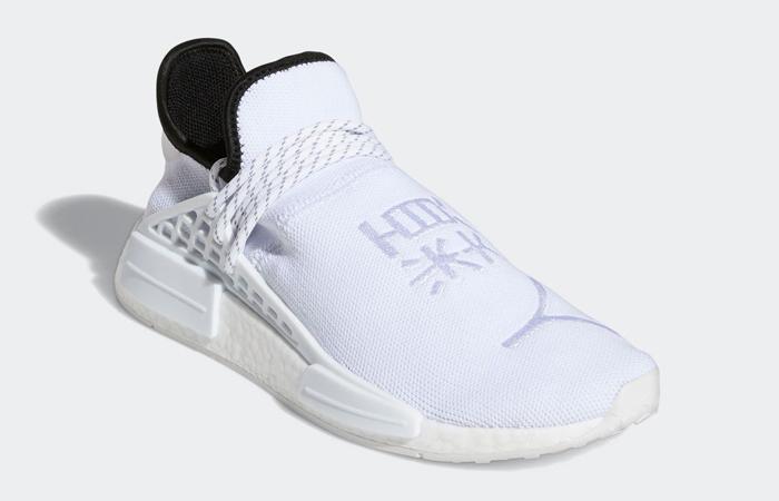 Pharrell adidas NMD Hu White GY0092 02
