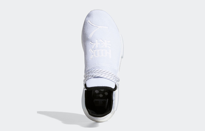 Pharrell adidas NMD Hu White GY0092 04