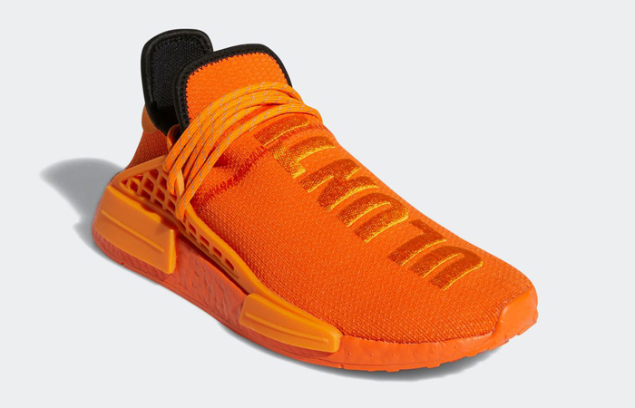 Pharrell adidas NMD Hu Yellow Orange GY0095 02