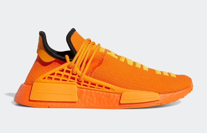 Pharrell adidas NMD Hu Yellow Orange GY0095 03