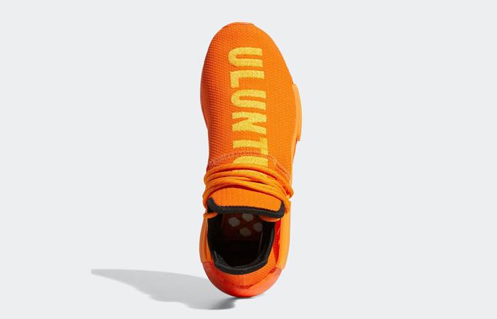 Pharrell adidas NMD Hu Yellow Orange GY0095 04