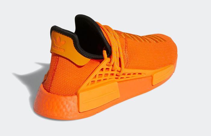 Pharrell adidas NMD Hu Yellow Orange GY0095 05