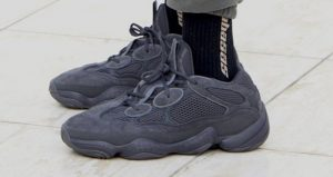 The Yeezy 500 Utility Black Confirmed It's Release Date