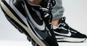 The sacai Nike VaporWaffle Black And Sail Releasing This Week! 02